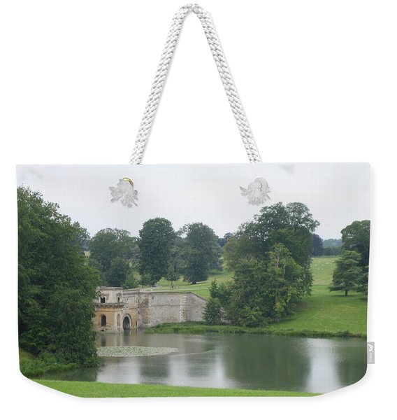 Blenheim Palace Lake Weekender Tote Bag