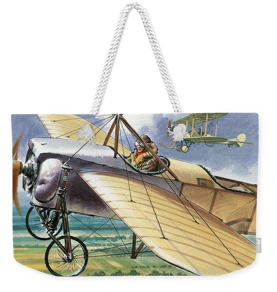 Bleriot Xi Monoplane Weekender Tote Bag