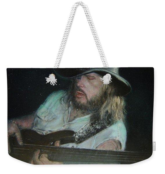 Blues Traveler Weekender Tote Bag