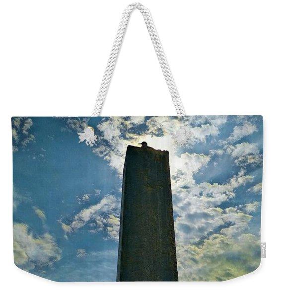 Blessed Bird Weekender Tote Bag