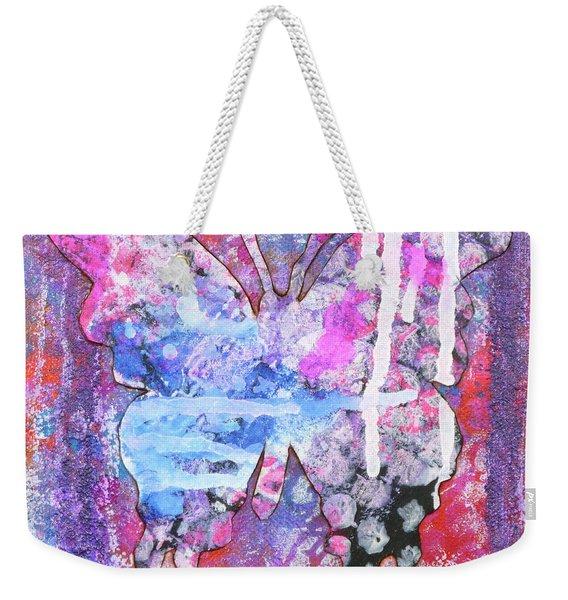 Blessed Butterfly Weekender Tote Bag