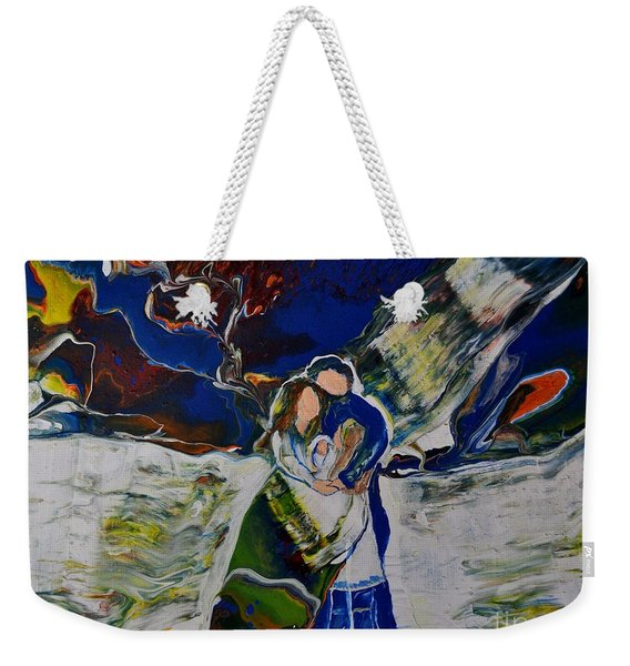 Blessings From Above Weekender Tote Bag
