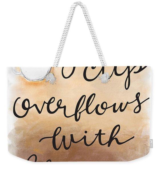 Blessings Weekender Tote Bag