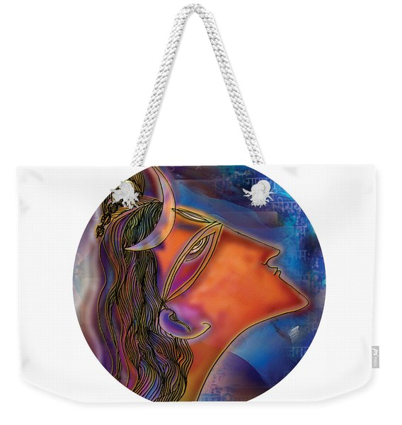 Bliss Shiva Weekender Tote Bag