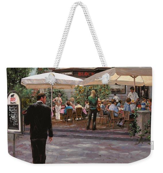 Blockhouse Weekender Tote Bag