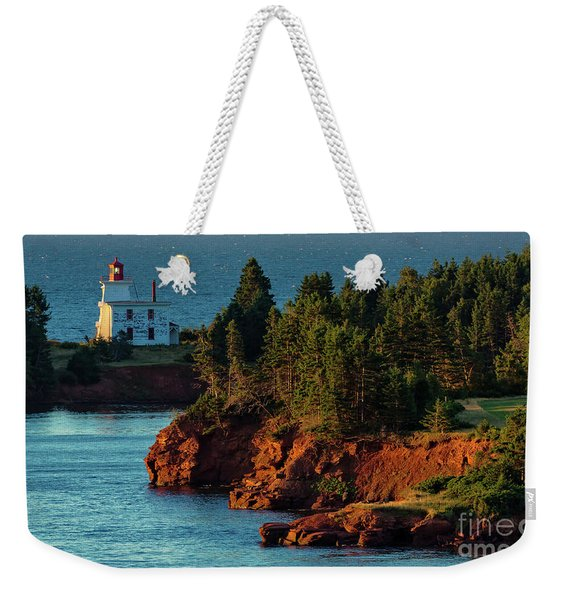 Blockhouse Point Lighthouse Weekender Tote Bag
