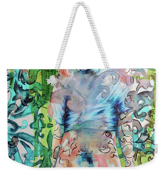 Blond Boy Version 3 Weekender Tote Bag