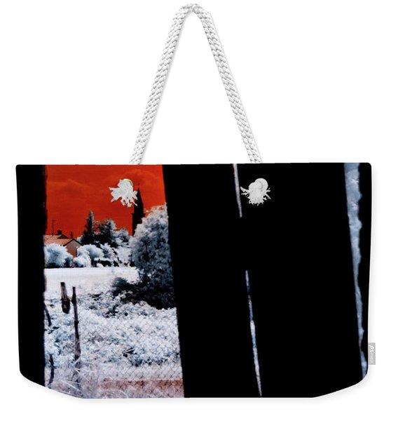 Blood And Moon Weekender Tote Bag