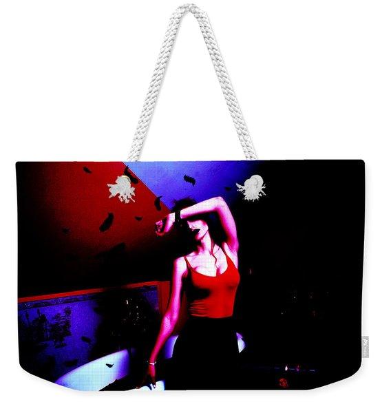 Blood Weekender Tote Bag