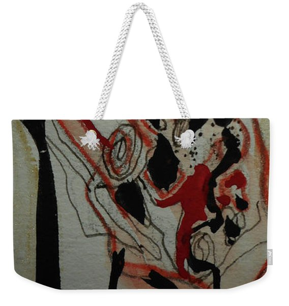 Blood Flowers Weekender Tote Bag