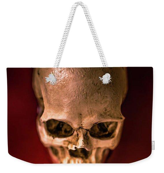 Blood Pool Skull Weekender Tote Bag