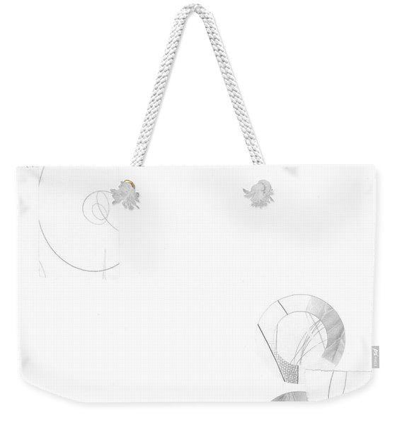 Bloom No. 3 Weekender Tote Bag