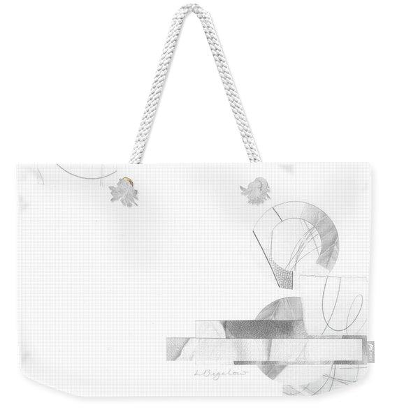 Bloom No. 3 Weekender Tote Bag