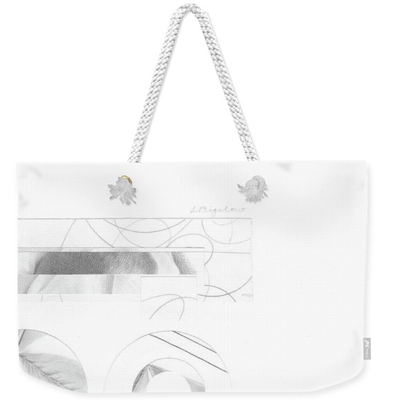 Bloom No. 4 Weekender Tote Bag