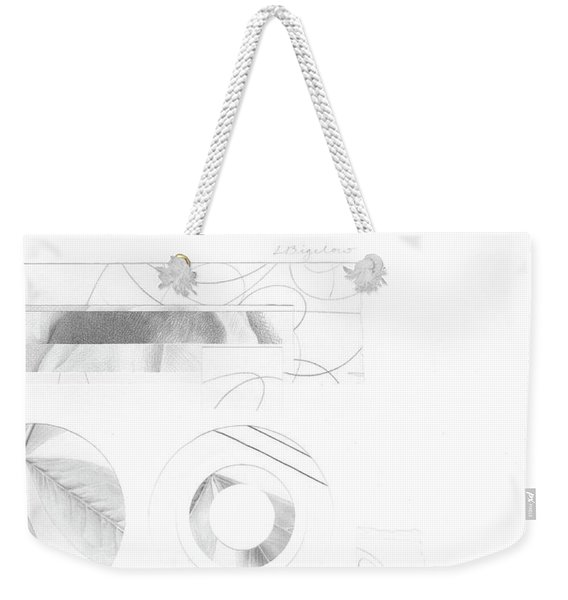 Bloom No. 4 Weekender Tote Bag