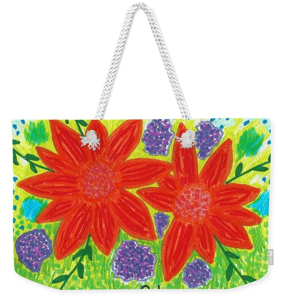Bloomin' Blossoms Weekender Tote Bag
