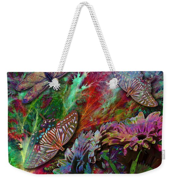 Blooming Color Weekender Tote Bag