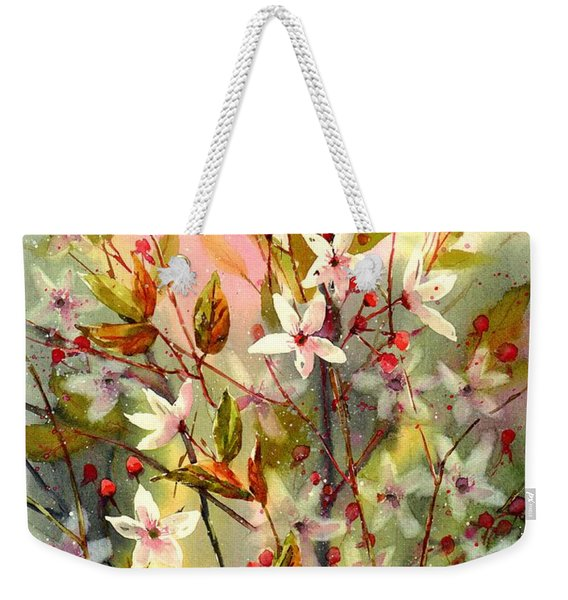 Blooming Magical Gardens I Weekender Tote Bag
