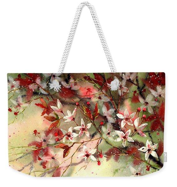 Blooming Magical Gardens IIi Weekender Tote Bag