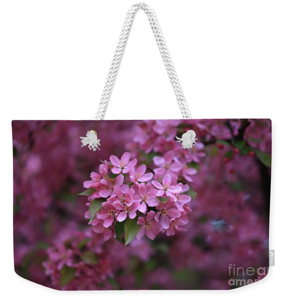 Blooming Pink Fantasy Weekender Tote Bag