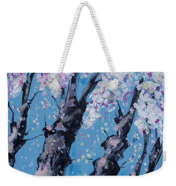 Blooming Trees Weekender Tote Bag