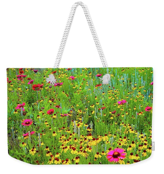 Blooming Wildflowers Weekender Tote Bag