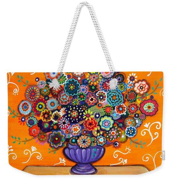 Blooms 6 Weekender Tote Bag