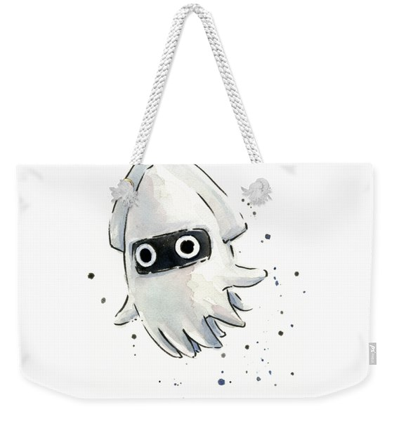 Blooper Watercolor Weekender Tote Bag