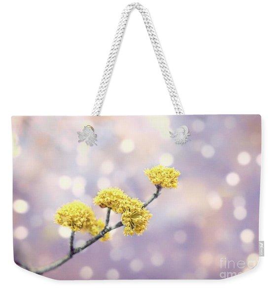 Blossom Melodies Weekender Tote Bag