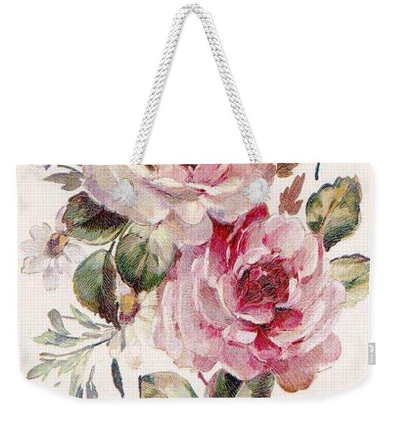 Blossom Series No. 1 Weekender Tote Bag