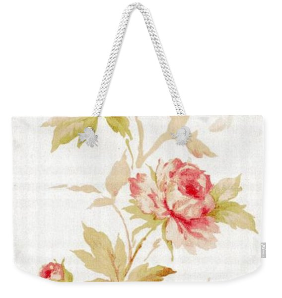 Weekender Tote Bag featuring the mixed media Blossom Series No.2 by Writermore Arts