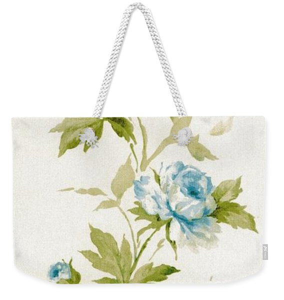 Weekender Tote Bag featuring the mixed media Blossom Series No.3 by Writermore Arts