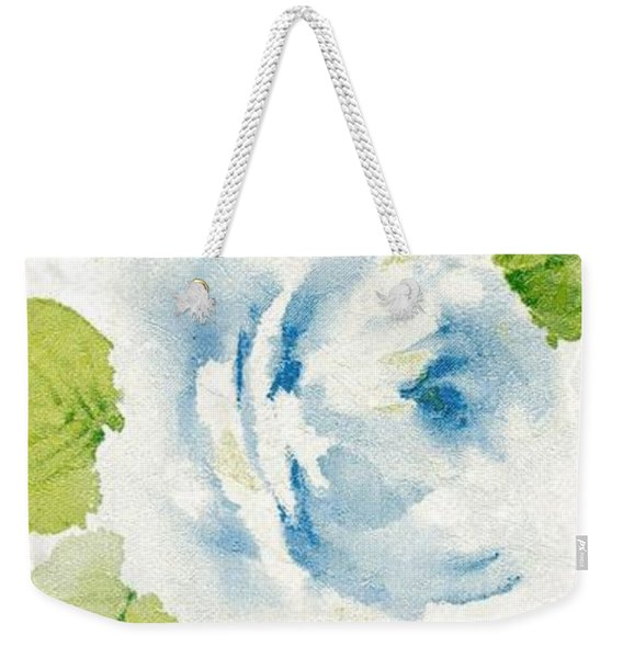 Weekender Tote Bag featuring the mixed media Blossom Series No.7 by Writermore Arts