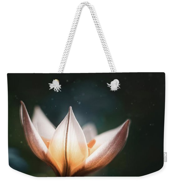 Blossoming Light Weekender Tote Bag