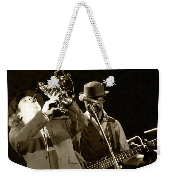 Blow Boney Blow Weekender Tote Bag