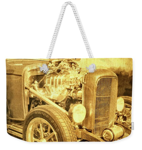 Blown Weekender Tote Bag