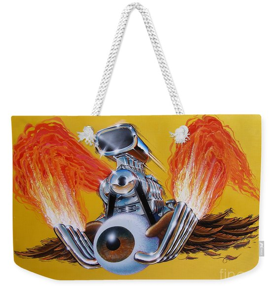 Blown Eyeball Weekender Tote Bag