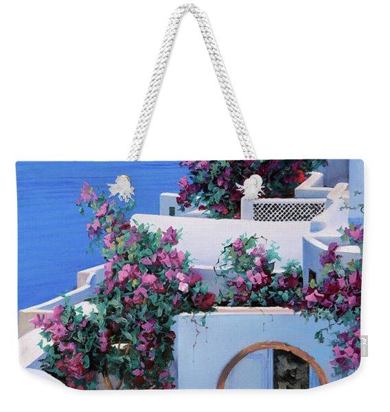 Blu Di Grecia Weekender Tote Bag