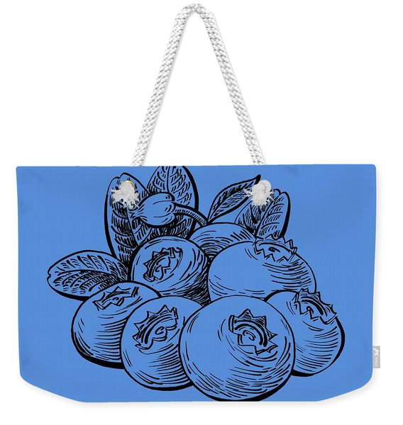 Blueberries Group Weekender Tote Bag