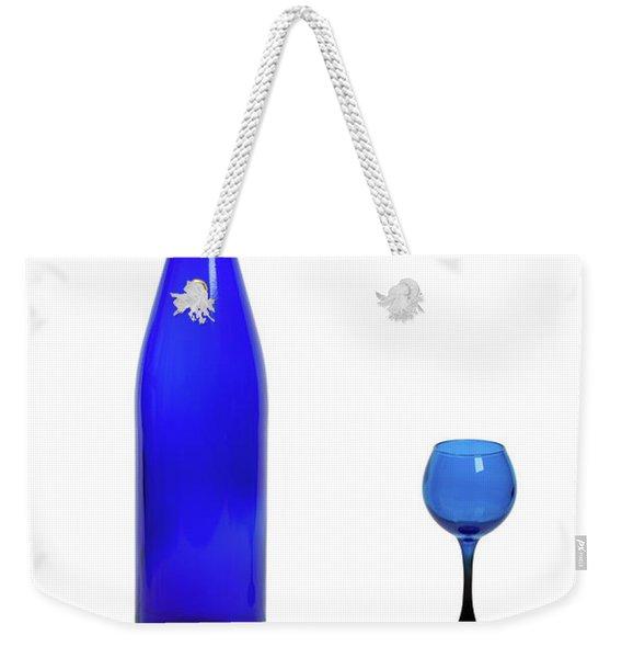 Blue  #2438 Weekender Tote Bag
