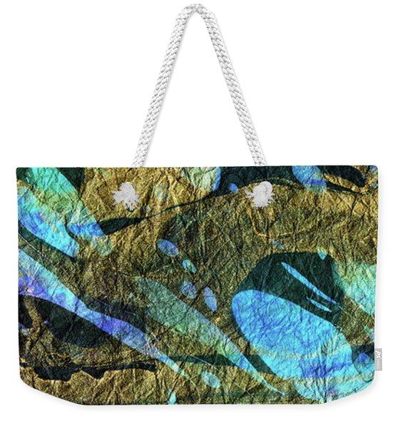 Blue Abstract Art - Deeper Visions 2 - Sharon Cummings Weekender Tote Bag