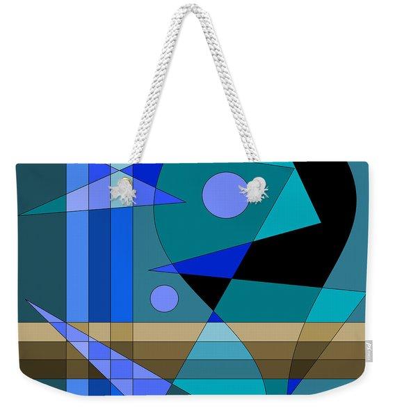 Kinetic Weekender Tote Bag