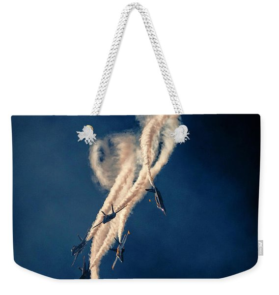 Blue Angels Breakout Weekender Tote Bag