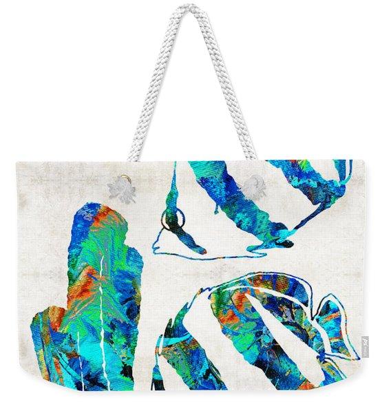 Blue Angels Fish Art By Sharon Cummings Weekender Tote Bag