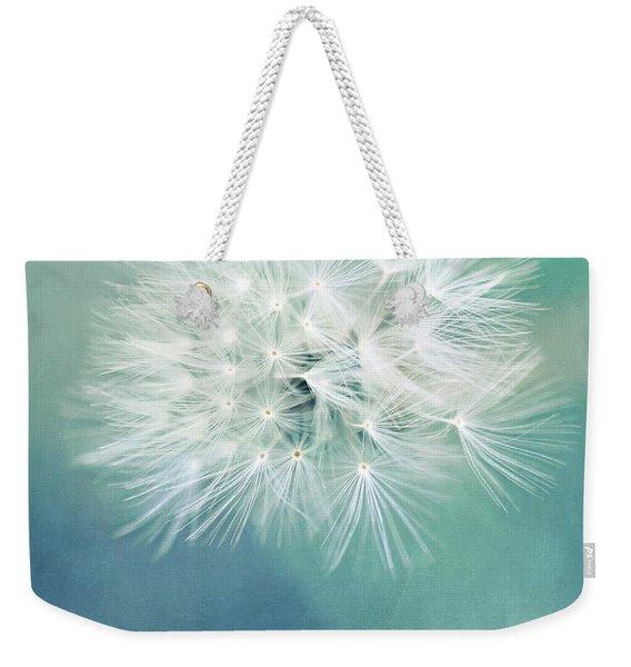 Blue Awakening Weekender Tote Bag
