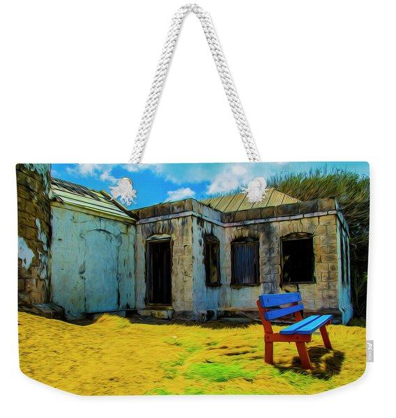 Blue Bench Weekender Tote Bag