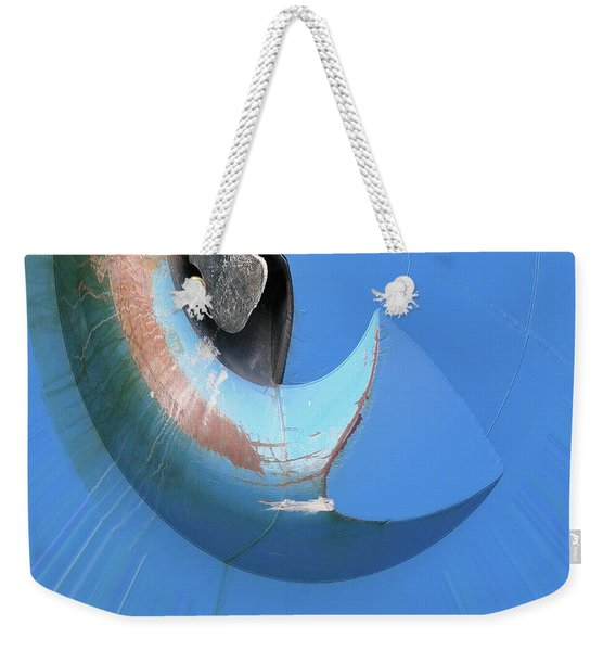 Blue Bend Weekender Tote Bag
