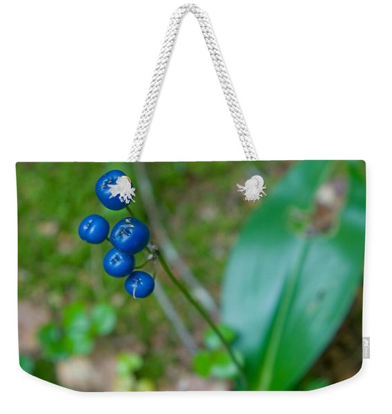 Blue Berries Weekender Tote Bag