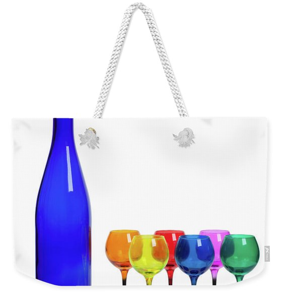 Blue Bottle #2429 Weekender Tote Bag