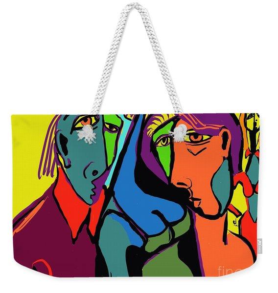 Blue Breasted Distraction Weekender Tote Bag
